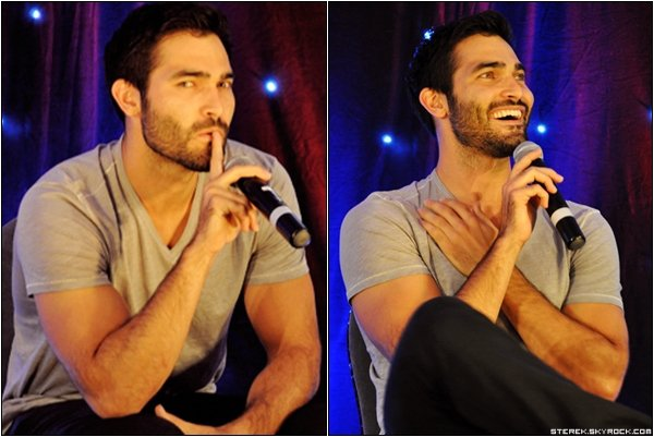 !  Tyler Hoechlin à la convention Wolfsbane + Sterek  !