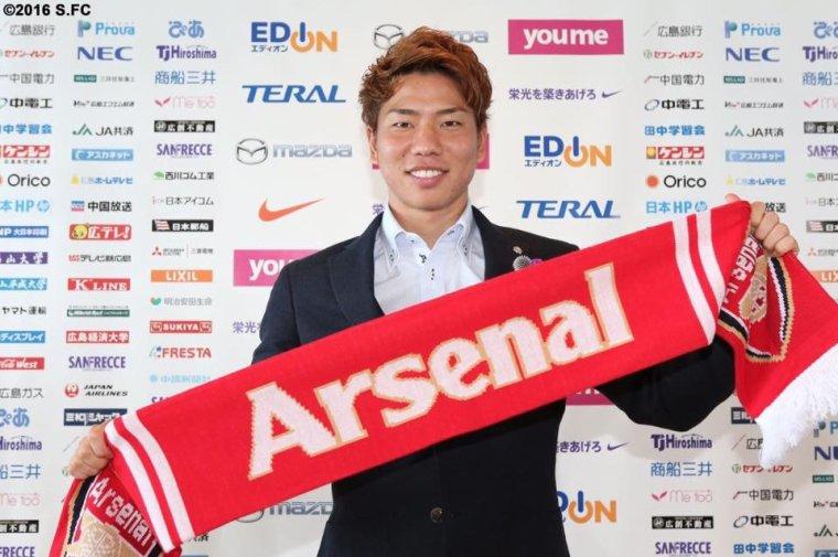 Transfert : Arsenal doit prêter Asano