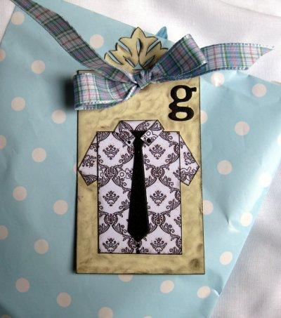 65 - Scrapbooking - Etiquettes pour cadeaux