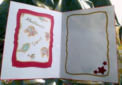 84 - Scrapbooking - Carte de fête de fin d'année