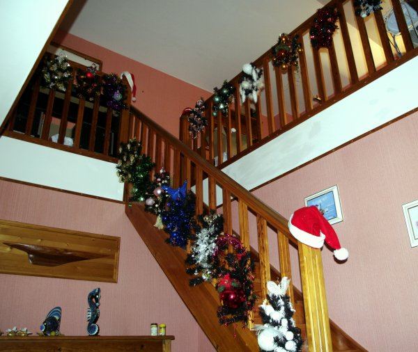 116 - Déco de Noel - escalier