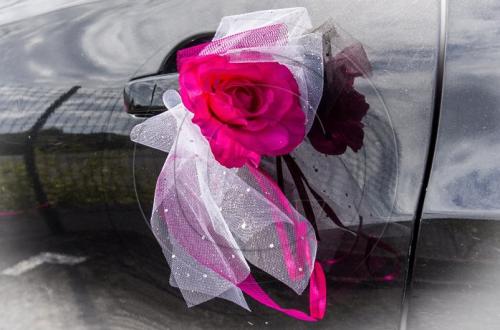 131 - Déco de mariage - Voiture de la mariée