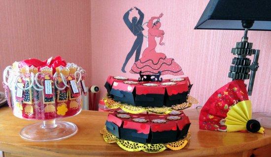 187 - SCRAPBOOKING - Déco mariage theme espagnol flamenco