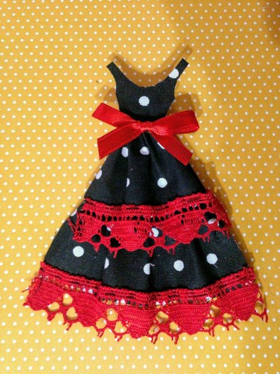 188 - SCRAPBOOKING - Déco mariage Boîte dragées ou bonbons pour femme theme Flamenco Espagne