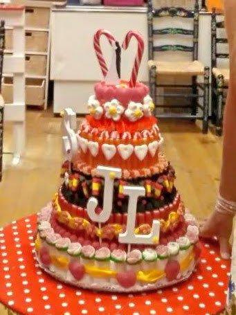 191 - Gâteau de bonbons