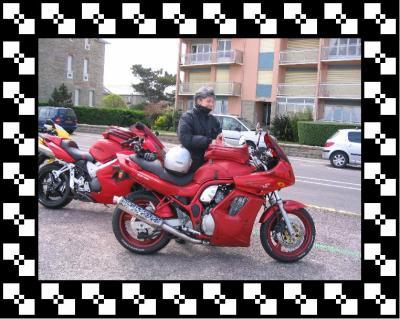 "10 - Moto - ma Susuki  "" Bandit ""  600cm3"