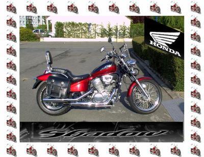 """32 - Moto - Honda  """" Shadow """" 600 cm3"""