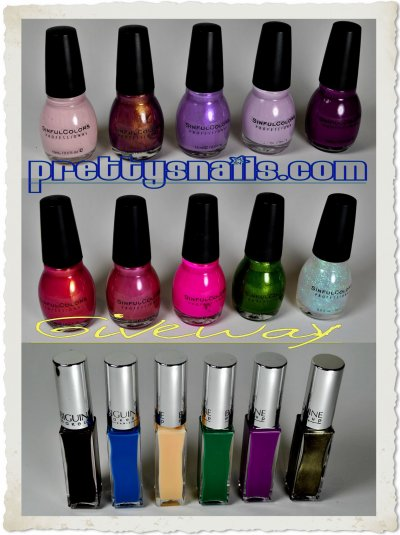 Giveaway de Pretty's Nails & Co