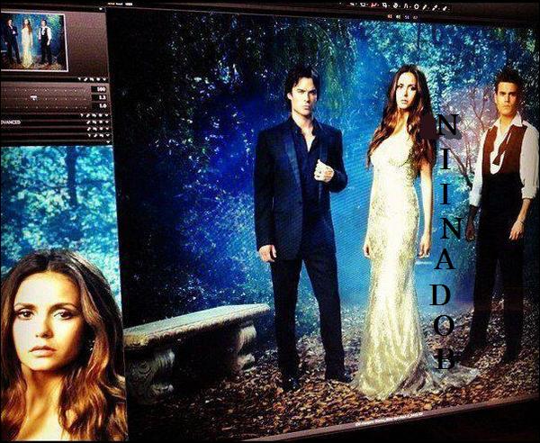 Photo promotionelle de la saison 4 (Nina est magnifique) ! ♥