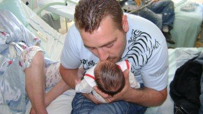 julian avec son papa