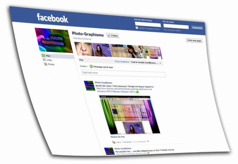 Page Facebook ? Oui, celle de Photo-Graphisme !!