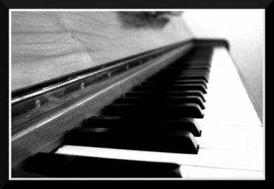 La vie est comme un piano, il y a le noir et le blanc. Il faut jouer les deux pour avoir une belle mélodie.  ♥