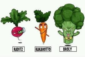 Dragon Légumes Z