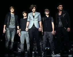 X Factor rehearsals