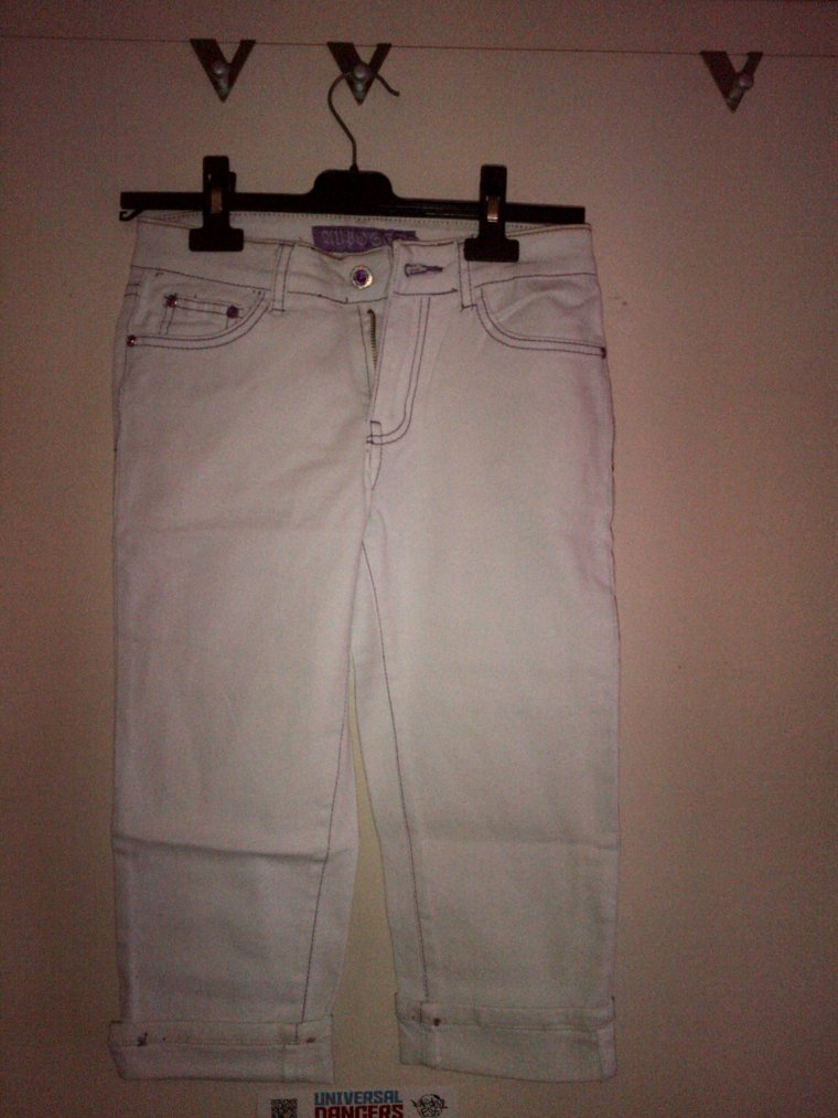 Pantacourt jeans TS - 10e?