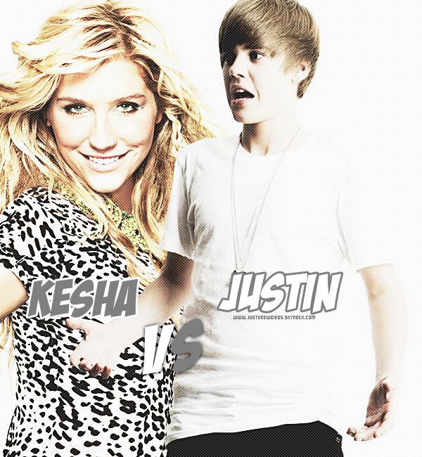.   Kesha voudrait écraser Justin Bieber grâce à l'aide de ses fans..