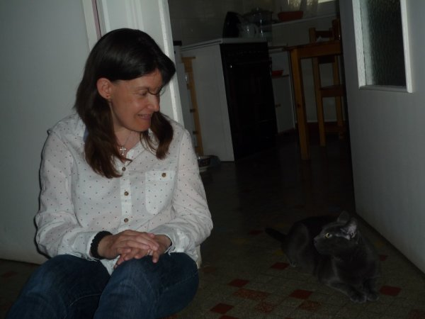 moi et mon chat 4 ans