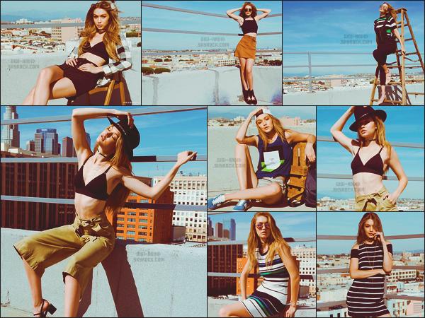 - ◊◊  Gigi Hadid toute en beauté qui pose pour la marque tendance : « Penshoppe ».     En tant qu'égérie de la marque de mode Penshoppe, Miss Hadid a réalisé un tout nouveau photoshoot présentant la collection Pre-Holiday. J'adore .. -