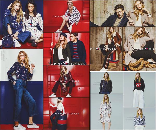 .  Plusieurs clichés de la campagne pour la collection : « TommyxGigi » ont été dévoilés..