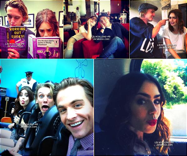 30\07\13 : Quelques photos personnelles de notre Lily sont apparues Comment trouvez-vous les photos ? Moi je les trouves superbes !