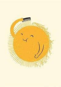 SMILING OF SELF-MOCKERY