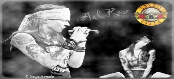 Chanteur: Axl Rose