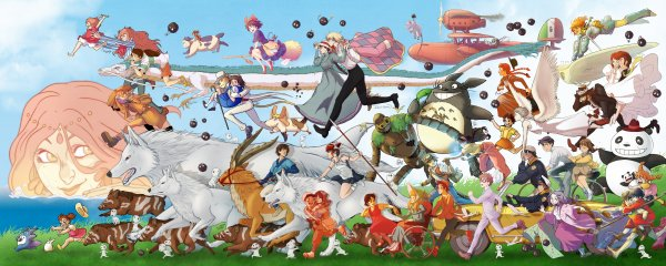 Marathon Juillet 2016 : Ghibli & Co.