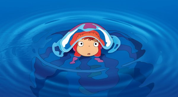 """Ponyo loves Sosuke ! I will be a human, too !"""