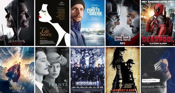 2016 au Cinéma