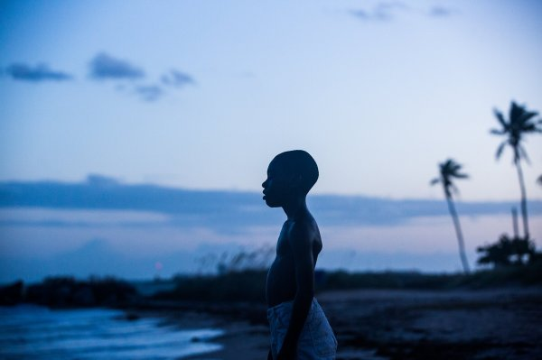 """Running around, catching a lot of light. In moonlight, black boys look blue. You're blue."""