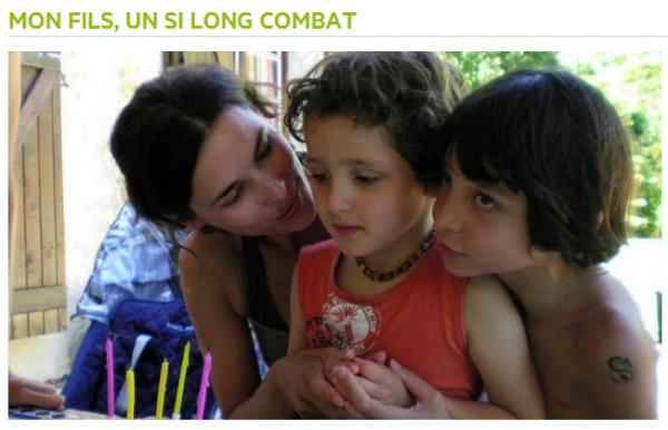 """Challenge """"Je mets mon cerveau en route"""" - Documentaire : Mon fils, un si long combat"""
