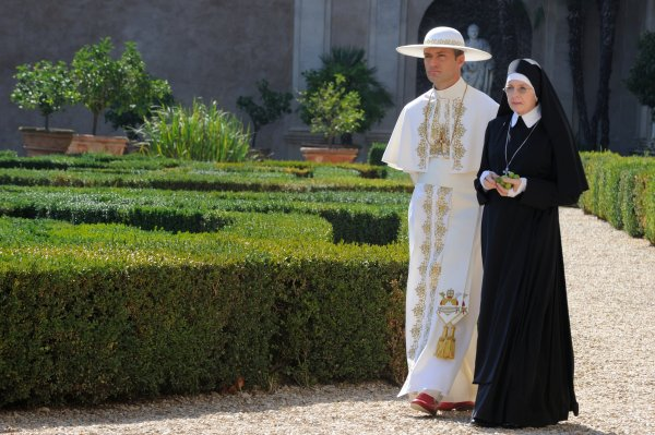 """""""It's difficult for a saint to answer all the questions of humanity."""""""
