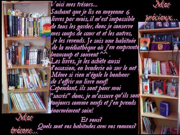 Mes livres adorés...
