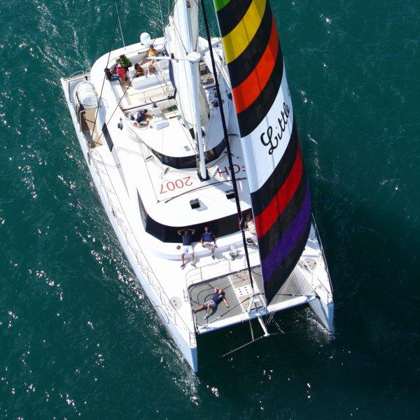Catamaran le Providence le Grau du Roi /camargue-vacances
