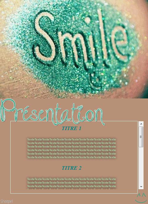 Thème 5 : Smile