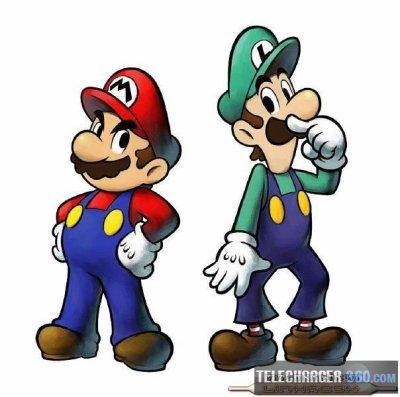 Jeu Vidéo Mario Bros Et Super Mario Bros Voyage à