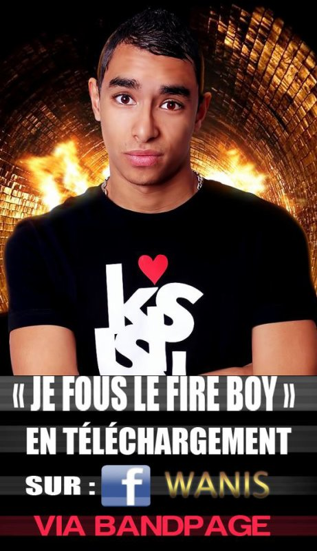 Wanis _J'fou le fire boy (rmx willow smith ft nicky minaj_fireball) (2011)
