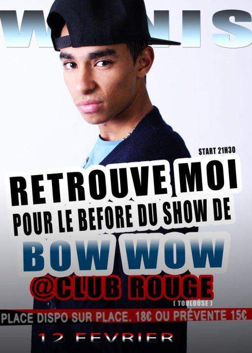 RDV AU SHOW DE LIL BOW' WOW