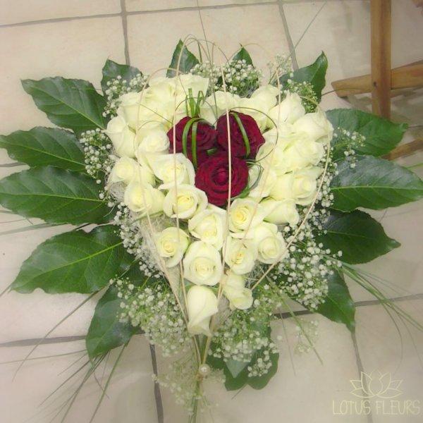 idéee bouquet de la mariée
