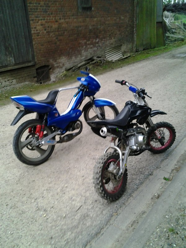 My dirt bike