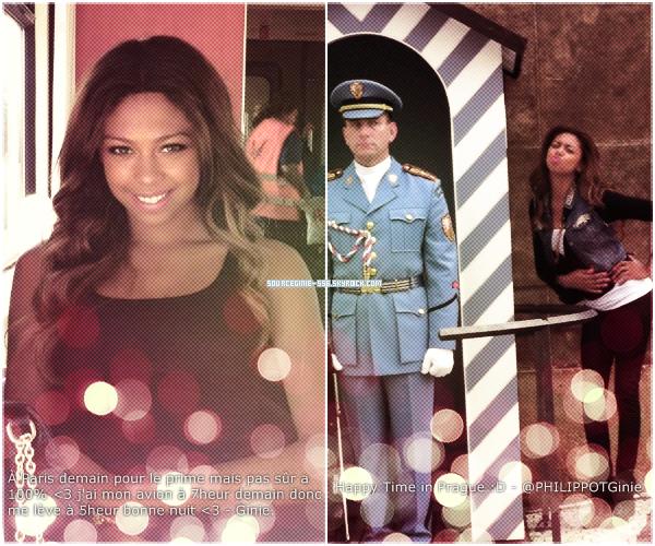 Découvrez deux nouvelles photos de la très jolie Virginie posté sur son twitter @PHILIPPOTGinie.