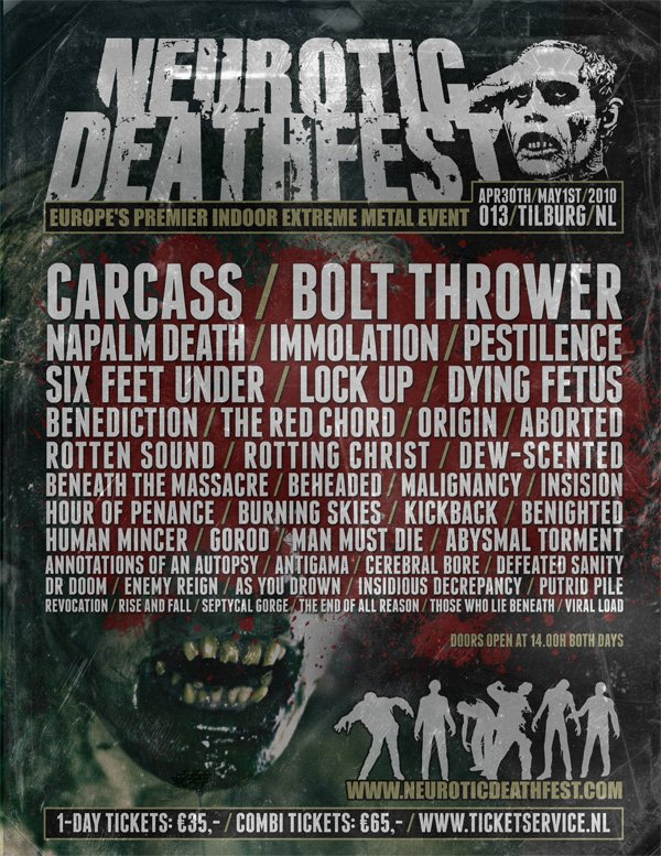 Neurotic Death Fest 2010
