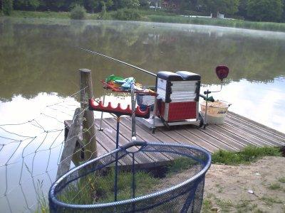 mes pêche a l'étang de meudon