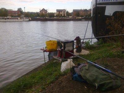 ma pêche sur la seine
