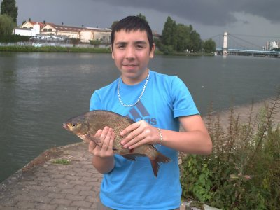 initiation d'un pêcheur