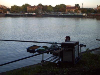une journée de pêche avant les vacances