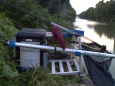 un après midi de pêche