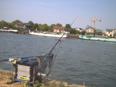 un parti pêche au quiver a Draveil