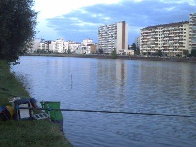 une pêche de gardons