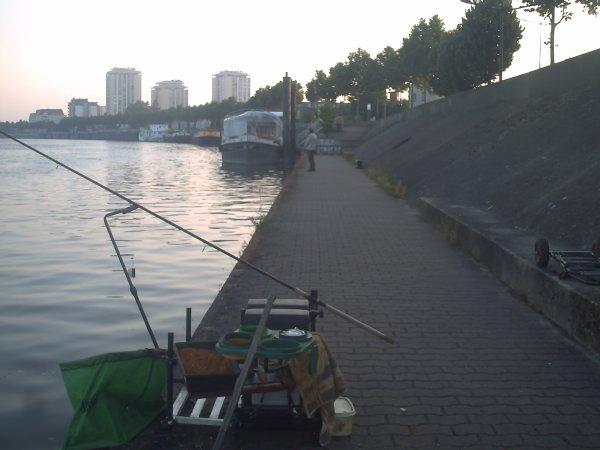 deux pêche différente